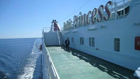 Baltic Princess laskettiin ensi kertaa vesille maaliskuussa 2008.
