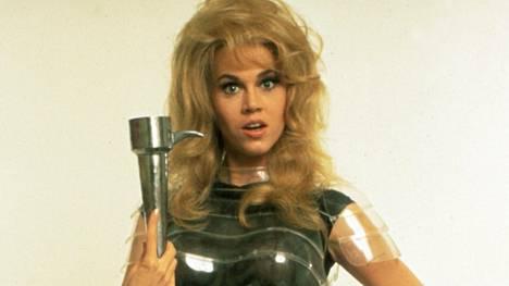 Vuonna 1968 ilmestynyt Barbarella-seikkailu teki Jane Fondasta seksisymbolin.