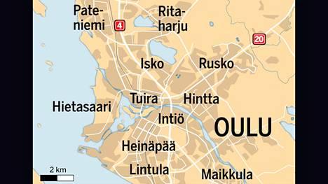Uhrin omaiset auttoivat Oulun seksuaalirikoksesta epäillyn kiinniotossa