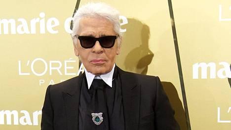 Muotimaailman huippunimet saapuivat jättämään hyvästinsä Karl Lagerfeldille.