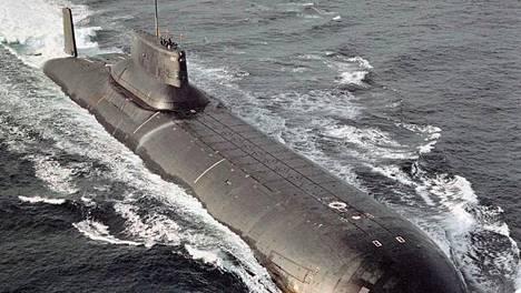 Typhoon-luokan ydinsukellusvene.