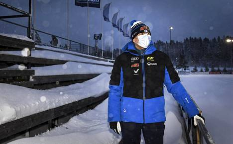 Hiihtoliiton toiminnanjohtaja Ismo Hämäläinen seurasi tiistaina Suomen cupin kilpailua Vantaan Hakunilassa.