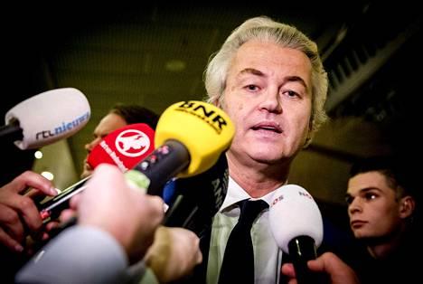 Geert Wildersin kommentit kiinnostivat mediaa.