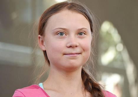 Greta Thunberg tunnetaan nuorena ilmastoaktivistina.