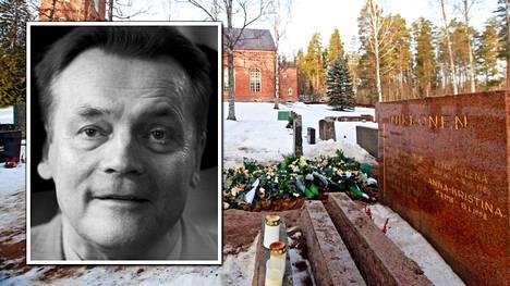 Timo T.A. Mikkonen haudattiin Mäntsälän hautausmaalle.