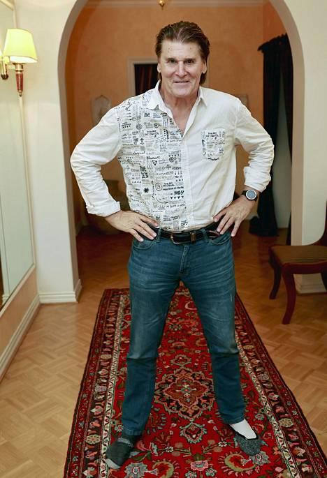 Frederik on tehnyt 60-vuotisen uran.