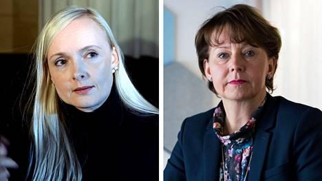 Maria Ohisalon ja Raija Toiviaisen nimet ovat Krp:n mukaan olleet äärioikestolaisten nimilistoilla.