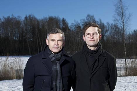 Antti Virolainen ja Joonas Salo aloittavat IS kylässä -kiertueen perjantaina.
