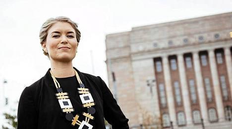 Kokoomusnuorten puheenjohtaja Susanna Koski.