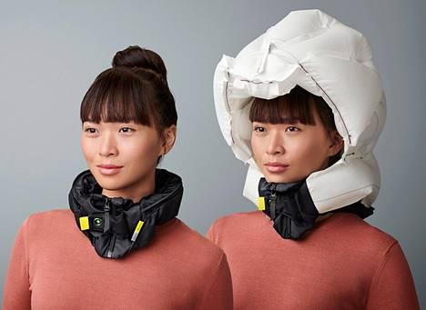 Hövding-kypärän hinta on muita suolaisempi, mutta sen automaattinen airbag-toiminto suojaa erityisen hyvin onnettomuustilanteessa. Hinnat pyörivät noin kolmen sadan euron kieppeillä.