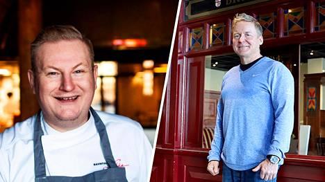 Pääkaupunkiseudulla vaikuttavat ravintoloitsijat Ari Ruoho ja Petri Naumanen eivät innostuneet STM:n päivittämistä rajoitustoimenpiteistä.
