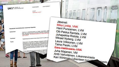 Vielä torstaina ministeriön verkkosivuilta löytyi alkuperäinen työryhmien kokoonpano. Listaa täydennettiin perjantaina.