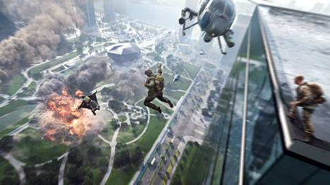 Battlefield 2042:ssa pelaa samanaikaisesti jopa 128 pelaajaa, mutta vain pc:llä ja uusimmilla konsoleilla.