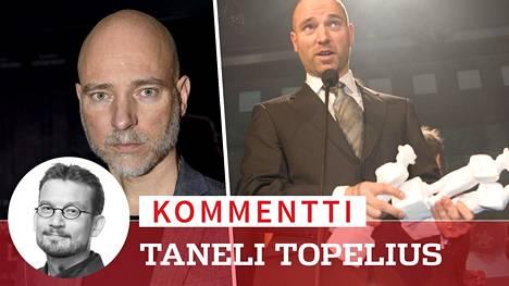 Aku Louhimies sai tänä vuonna kolme Jussi-ehdokkuutta. Vuonna 2006 hän voitti kaksi Jussia (oikeanpuoleinen kuva): Paha maa -elokuvan ohjauksesta ja käsikirjoituksesta.