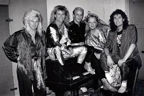 Dance-yhtye Bogart Co. villitsi musiikillaan 1980-luvulla.