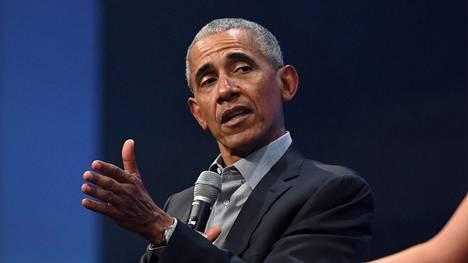 Yhdysvaltain entinen presidentti Barack Obama.