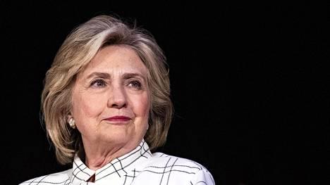 Hillary Clinton sohaisi Eurooppaan.