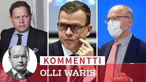 Sosiaali- ja terveysvaliokunnan puheenjohtajan Markus Lohi vetää parhaillaan kokousmaratonia soten toteuttamiseksi. Muun muassa kokoomuksen Petteri Orpo ja Husin Juha Tuominen ovat arvostelleet sote-mallia.