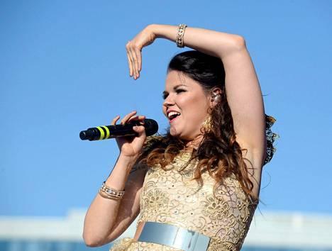 Saara Aalto on oussut kansainväliseen tietoisuuteen Britannian X Factor -ohjelmassa.