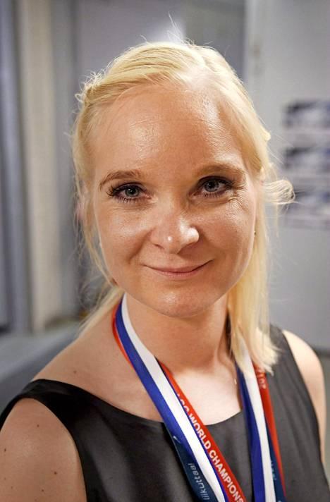 Titta Heikkilä on valmentanut Minettejä vuodesta 2011 lähtien.