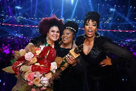 The Mamas -yhtye edustaa Ruotsia Rotterdamissa toukokuussa.