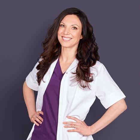 Lääkäri Emma Craythorne toimii Lontoossa.