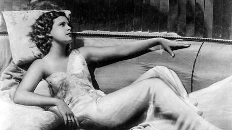 Hedy Lamarr elokuvassa Hurmio.