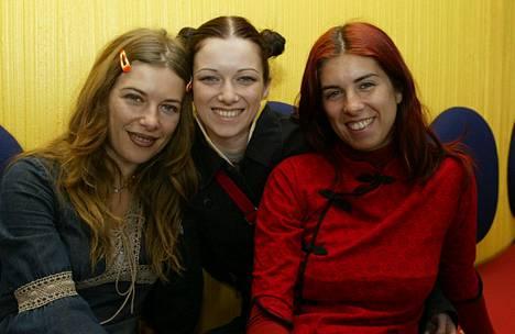 Las Ketchup vieraili Suomessa vuonna 2003.