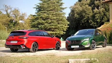 Tässä ne ovat: uudistuneet Peugeot 308 -mallit.