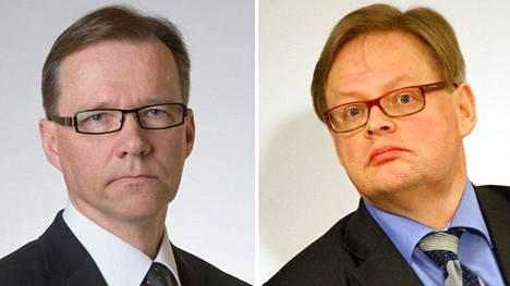 Timo Korhonen ja Juhana Vartiainen olivat eniten poissa valiokunnista. Molemmilla on usein kaksi kokousta samaan aikaan.