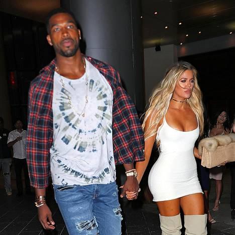Khloe Kardashianin uusi rakas on koripalloilija Tristan Thompson.