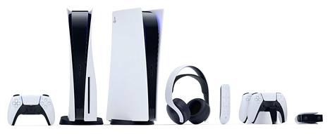 Sony julkaisee pelikonsolin ohella myös lisälaitteita.