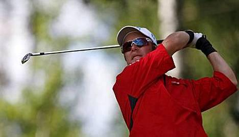 Mikko Ilonen nähtiin hiljattain kotimaassakin, kun hän pelasi SK Golf Challengessa.