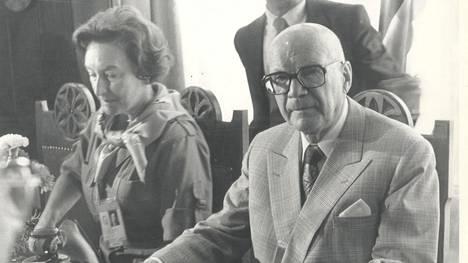Anita Hallama oli Urho Kekkosen pitkäaikainen rakastajatar.