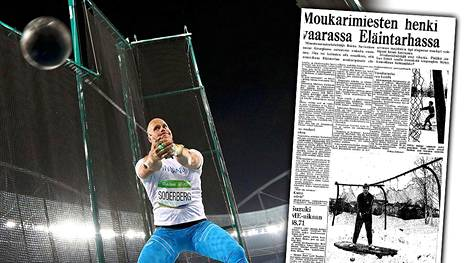Tuoreessa kuvassa David Söderberg Rion olympiakisoissa.
