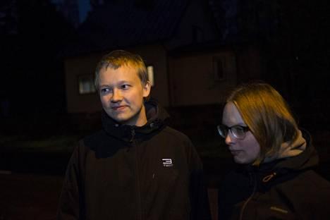 Teemu Käpylä ja Arjane Kerkhoven.