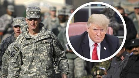 Kansainvälisiä joukkoja Afganistanissa komentanut kenraali Stanley McChrystal arvostelee presidentti Donald Trumpin suunnitelmia.
