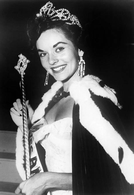 Lee Meriwether valittiin vuonna 1955 Miss Americaksi.