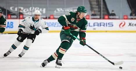 Kaprizov rynni NHL:n tähtiluokkaan jäädäkseen.