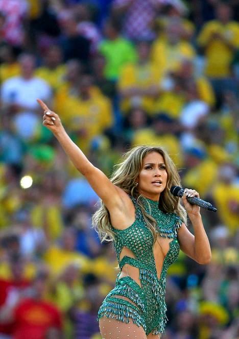 Jennifer Lopezin esiintyminen avajaisissa teki Marja Hintikkaan vaikutuksen.