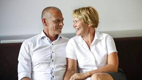 Juha ja Kirsi Penttinen ovat olleet yhdessä 37 vuotta.