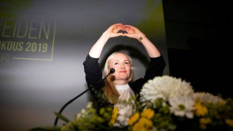 Ohisalo valittiin puheenjohtajaksi vuoden 2019 puoluekokouksessa Porissa.