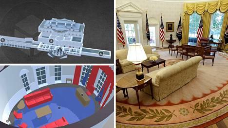 Presidentit Trump ja Niinistö tapaavat Valkoisessa talossa.