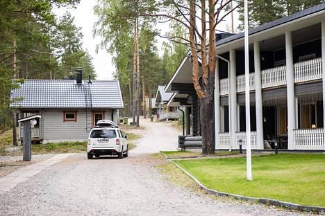 Kukkapään lomakylä Sulkavalla kuvattuna syyskuussa 2013.