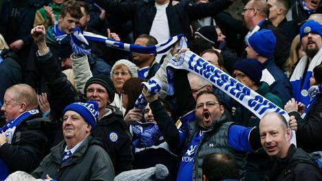 Leicester City johtaa Englannin Valioliigaa.