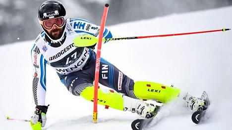 Andreas Romar ensi kertaa tällä kaudella pisteille alppihiihdon maailmancupissa