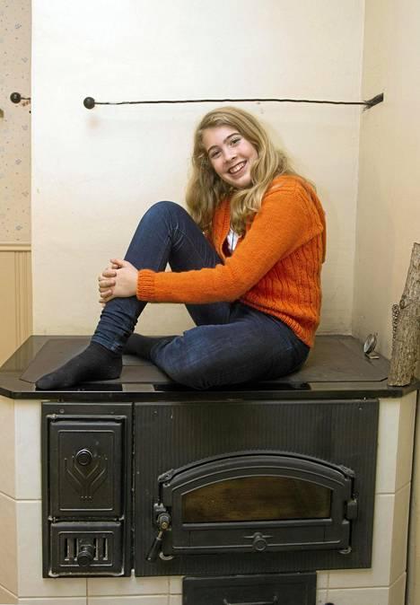 Ida O'Mahoney kokkasi tiensä julkisuuteen Junior MasterChef -ohjelmasssa 2012.