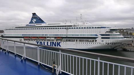 Varustamo Tallink Siljan omistama matkustajalaiva Silja Europa Tallinnan satamassa 23. lokakuuta 2019.
