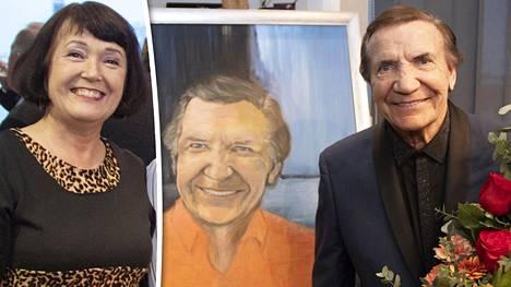 Anneli Airio on ollut Eino Grönin elämässä tärkeä tuki. –Me olemme hyviä ystäviä ja hyvin samanhenkisiä, Grön sanoo.