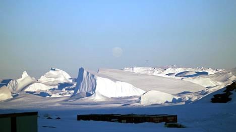 Antarktis kuvituskuvassa.